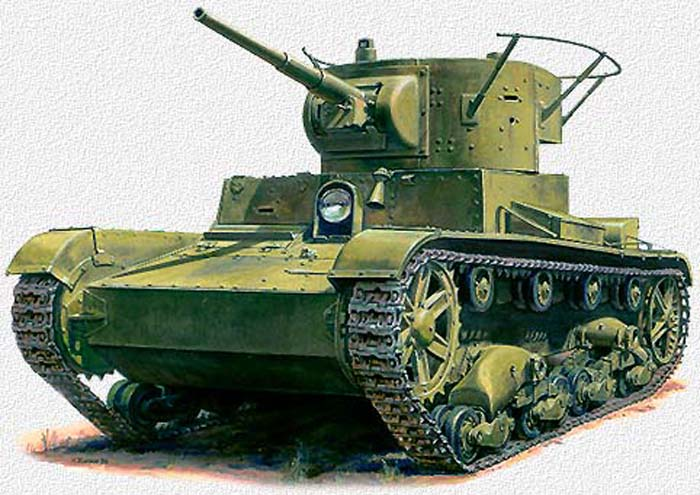 Лёгкий танк Т- 26 - Форум